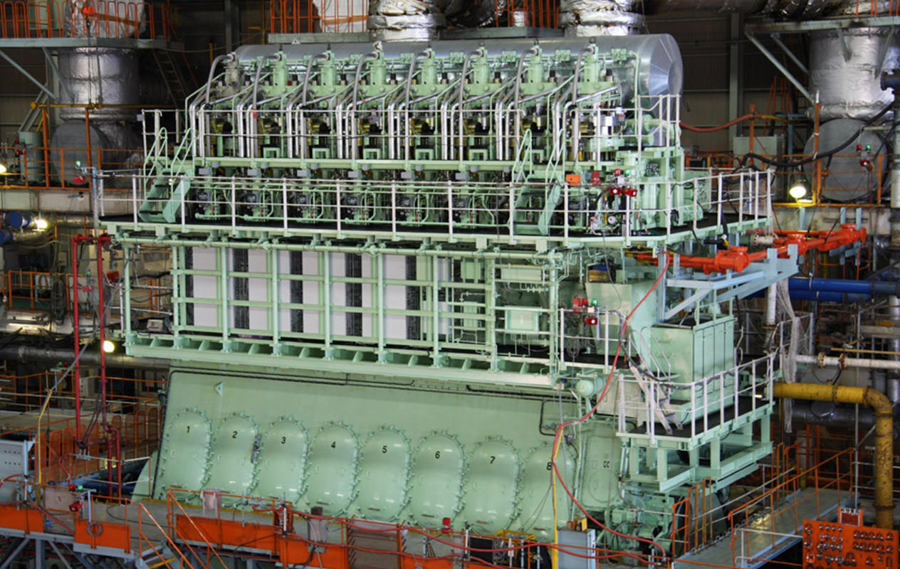 Marine Diesel Engines | Business & Products | Mitsui E&S Group