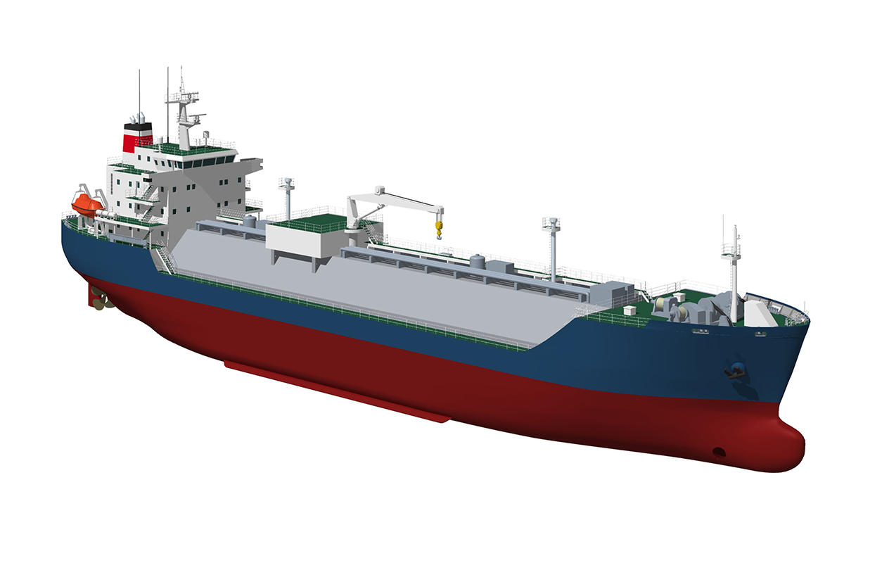 Solution proposal of gas engineering for liquefied gas carriers, LNG