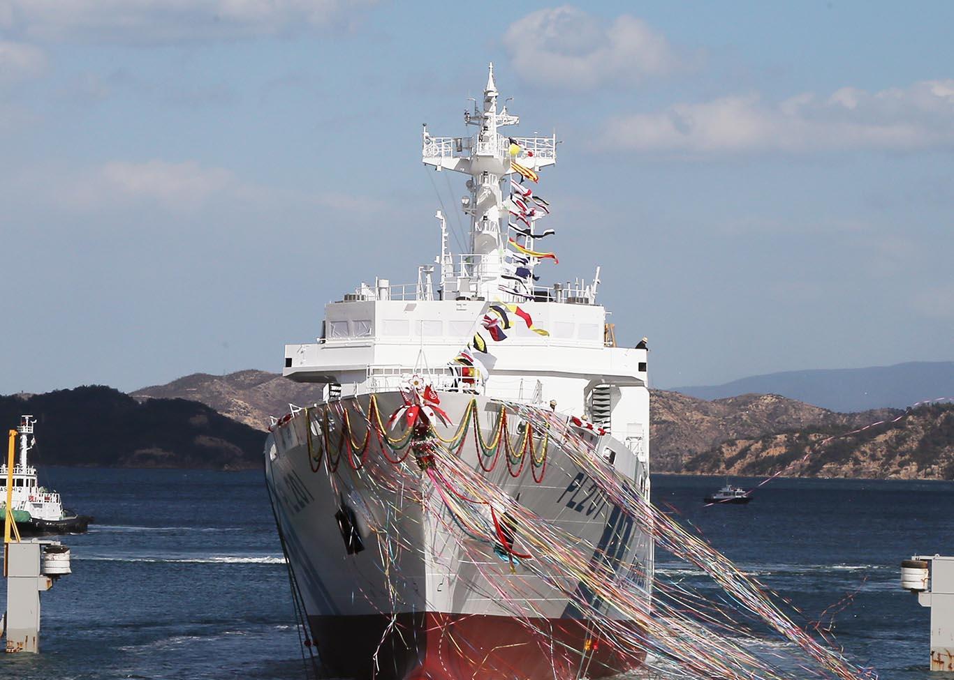 海上保安庁向け3,500トン型大型...